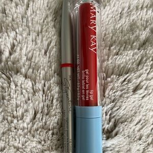 Mary May lip liner and lip gel in color red